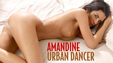 Sexy model Amandine