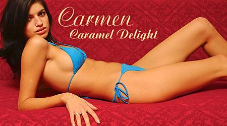 Sexy model Carmen