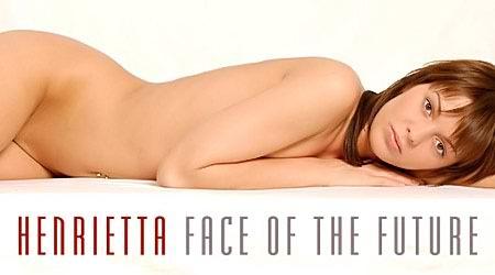 Sexy model Henrietta